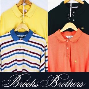 bundle of 4 Mens Brooks Brothers XL polo shirts